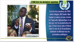CÔTE D'IVOIRE: L'ONU LEVÉ TOUTES SES SANCTIONS