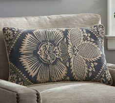 Kiva Floral Lumbar Cushion Cover | Pottery Barn AU