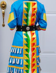 Native Jingle Dress – The Dress Shop Native American Clothing, Native American Regalia, Native American Fashion, Native Fashion, Jingle Dress Dancer, Powwow Regalia, Native Wears, Ribbon Skirts, Belle Dress
