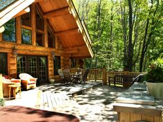 Ashe County Log Cabin, Estate Of The Day