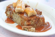 Disneyland's Flo's V8 Cafe Review, this Brioche Salted Caramel Banana French Toast is a must order!