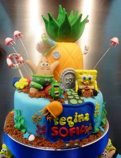sponge bob cake | Flickr - Photo Sharing!