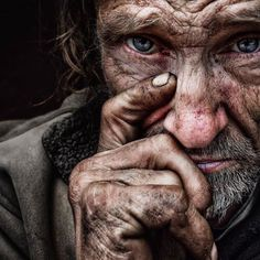 Thomas by Lee Jeffries - Photo 144457661 - Lee Jeffries, Street Photography, Portrait Photography, Old Faces, Interesting Faces, People Around The World, Beautiful People, Photo And Video, Black And White