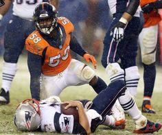 Von Miller sacks Brady!