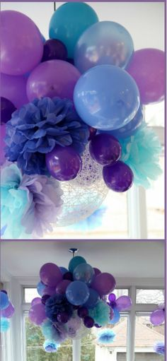 Wonderful balloon cluster