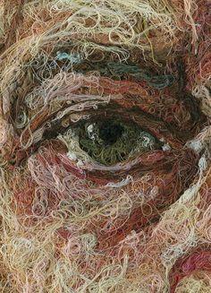 Pulmonaire - Thread Art by Comme Des Garçons