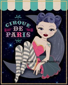 CIrque De Paris Pin Up - Maria Danalakis