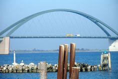 Fehmarn, Germany #Fehmarnsund #Brücke Fehmarn #Urlaub