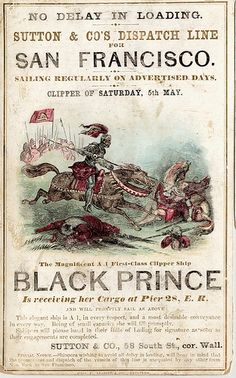 Classic Poster portraying The Black Prince in action