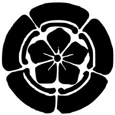 The Mon (Crest) of the Japanese Oda Clan.