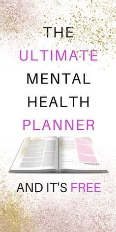 I wanted to create some mental health resources for you guys and I thought I would start by sharing the planner I use. Ever since college I have been searching for the perfect planner system. For awhile I was loyal to bullet journaling but it was too unst Free Mental Health, Mental Health Resources, Mental Health Awareness, Bullet Journal For Mental Health, Coaching, Transformation Project, Health Planner, Tips & Tricks, After Life