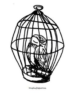 Harry Potter Unit Worksheet Owl Coloring Page