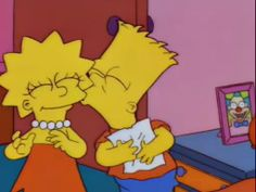 lisa bart actually getting along for once Bart E Lisa, Bart And Lisa Simpson, Bart Simpson Tumblr, Simpsons Simpsons, Simpsons Quotes, Cartoon Profile Pictures, Cartoon Pics, Cute Cartoon Wallpapers, Cartoon Memes