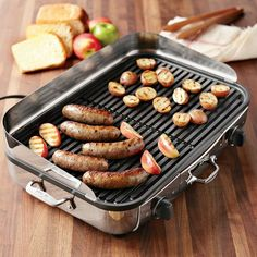 One of the best for indoor grilling. All-Clad. Electric.