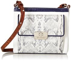 Brahmin Women's Mimosa Grey Handbag * Check out this great article.