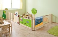 HABA Children's Room Divider Partition - Wall Combo 3 | Room Dividers | Play… #daycarerooms