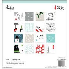 """Pinkfresh Studio - Oh Joy - 12x12"""" Paper Pack"""