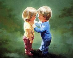 Donald ZOLAN | Дети :: Художник Donald Zolan :: фотография 1