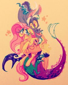 by JaneGumball on DeviantArt My Little Pony Cartoon, My Little Pony Drawing, Little Poni, Mlp Fan Art, Mlp Pony, Warrior Cats, My Little Pony Friendship, Fluttershy, Anime Ships