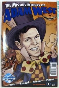 No Slice! Mis-Adventures of Adam West #1 Batman Bluewater Comics (2012) FREE Shipping + Spin2Win