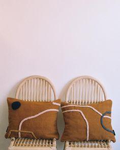 MANDAR pillows #lrnce #pillow #cushions #textiles #embroidery #handwoven #wool #marrakech #morocco