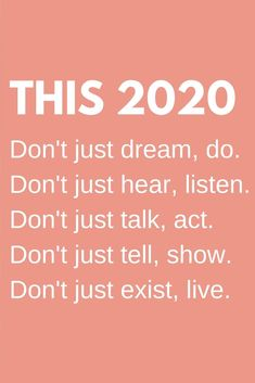 New year motivational quotes inspiration life 2020 - New year motivational quotes inspiration life 2020 : This 2020 year, Don't just dream, do. New Year Motivational Quotes, Happy New Year Quotes, Quotes About New Year, True Quotes, Great Quotes, Positive Quotes, New Year Love Quotes For Him, New Year Inspirational Quotes, Happy Holidays Quotes