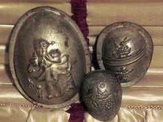 Beautiful egg shaped Easter molds