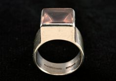 Bertel Gardberg ~Vintage silver rose #quartz #ring, 1960. Jewelry Rings, Jewlery, Jewelry Watches, Rose Quartz Ring, Silver Roses, Design Crafts, Vintage Silver, Costume Jewelry, Minerals