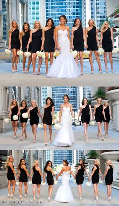 Best Wedding Group Pictures of Bridesmaids