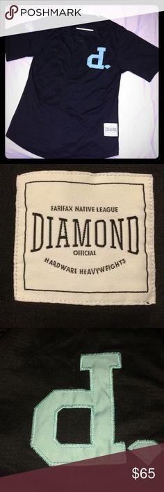 Diamond jersey Diamond Medium size jersey, great condition, only worn a couple times. Diamond Supply Co. Shirts