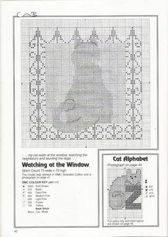 Gallery.ru / Фото #38 - Jill Oxton's Cross Stitch Australia SE N.2 - Cats, Borders a - patrizia61
