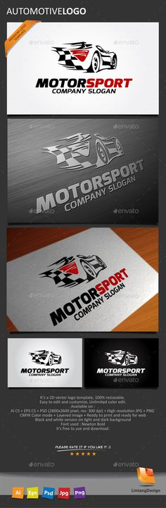 Automotive  - Logo Design Template Vector #logotype Download it here: http://graphicriver.net/item/automotive-logo/10259986?s_rank=664?ref=nexion