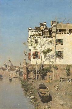 Martín Rico - Canal veneciano #7