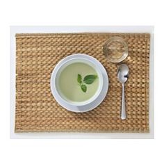 IKEA - UNDERLAG, Place mat, Protects the table top surface and reduces noise from plates and flatware.