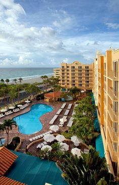 The beautiful Embassy Suites Resort & Spa in Deerfield Beach Florida Florida Hotels, Visit Florida, Florida Vacation, Florida Travel, Vacation Places, Beach Hotels, Florida Beaches, Beach Resorts, Dream Vacations