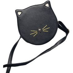Fashion Bag Cute Cat Ears Shoulderbag Casual Daypack Schoolbag ($22) ❤ liked on Polyvore featuring bags, handbags, shoulder bags, rucksack purse, back pack purse, back pack handbags, backpack purse and backpack shoulder bag