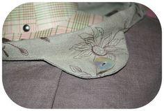 Beautiful linen detail.