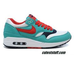 I just like this Womens Nike Air Max 1 Retro Sport Red White Shoes under $50