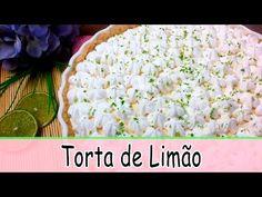 COMO FAZER TORTA DE LIMÃO PARA SOBREMESA | Receitas Tá na Hora #06 - YouTube