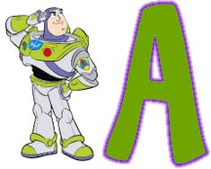 Oh my Alfabetos!: Alfabeto de Buzz Light Year de Toy Story.