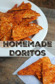 Homemade Doritos Style Chips More