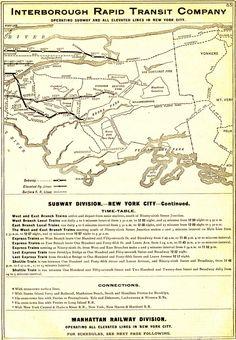 NYC Transit Maps