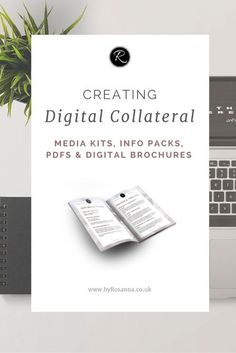 Why and how to create branded documents and digital collateral to send to your customers! (Media kits, PDFs and info packs for bloggers, designers, and other small business owners)