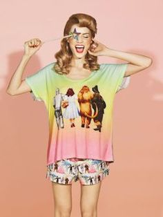 Peter Alexander Wizard of Oz PJs - Like: The bright colours used and it looks comfortable