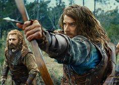 The Hobbit: The Desolation of Smaug - Kili & Fili Legolas, Thranduil, Aragorn, Fili Et Kili, Kili And Tauriel, Hobbit Cosplay, The Hobbit Movies, O Hobbit, Bilbo Baggins