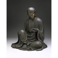 Portrait of an Arhat, Kamakura Period, 13th century, Geographic location: Japan, Dallas Museum of Art
