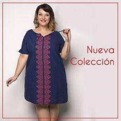 Buenos días!  Domingo  soleado y bien frío  Otro de los vestidos de nueva colección que os va al encantar  seguro!  #curvygirl #honormycurves #plussize #tallasgrandes