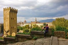On & Off Road Travels with Pat & Alan: Our Trip to Italy - The Other Side of the Arno River in Florence