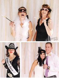 The Confetti Booth | Roaring 20's / Great Gatsby Photo Booth | Plaza Event Center | Longmont, CO #photobooth backdrop ideas #103