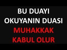 ALLAH'IN İZNİYLE 3 GÜNDE KESİN ETKİLİ İSMİ AZAM DUASI | Kayıp Dualar - YouTube Allah, Youtube, Prayers, Fethiye, Quotes, Tintin, Yogurt, Lifehacks, Angles